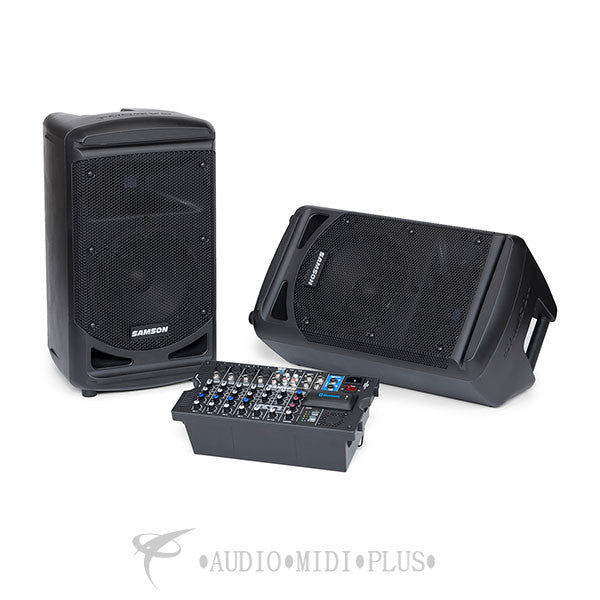 Samson Expedition XP800 800 Watt Portable PA System - SAXP800B - 809164018643