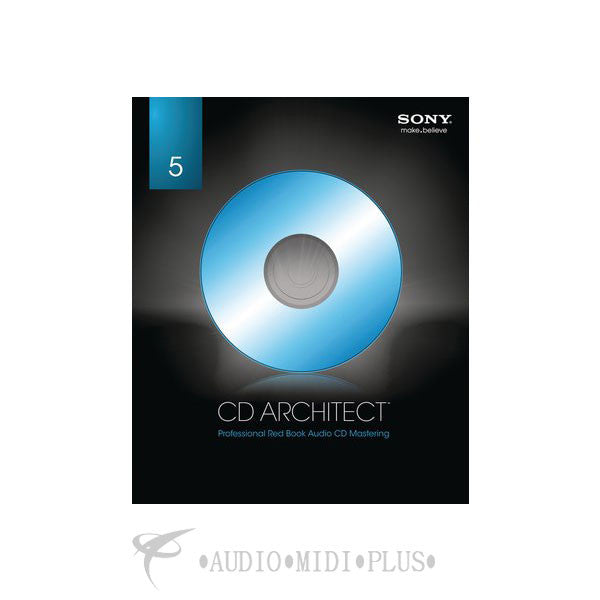Sony CD Architect 5.2 Retail - SCDR5200