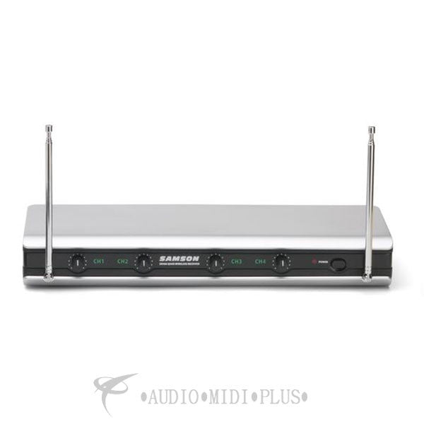 Samson Stage v466 Quad Vocal Wireless System - SW466SHT6B - 809164210733