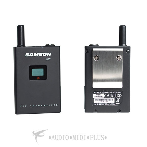 Samson Synth 7 Guitar Professional UHF Wireless System - SWS7SBGT-C - 809164213246