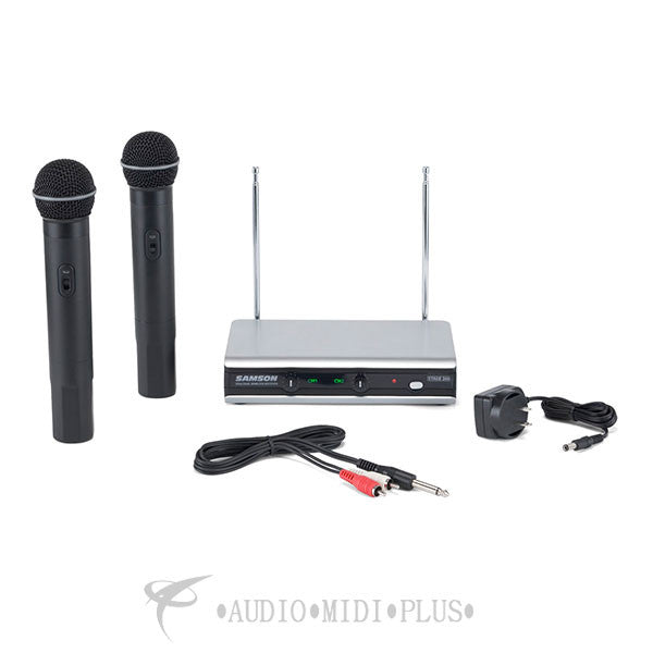 Samson Stage v266 Handheld Dual Vocal Wireless System Channels 3 & 21 - SWV266SHT6U- - 809164210429