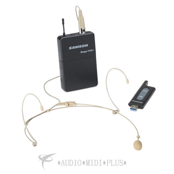Samson Stage XPD1 Headset USB Digital Wireless System - SWXPD1BDE5 - 809164215820