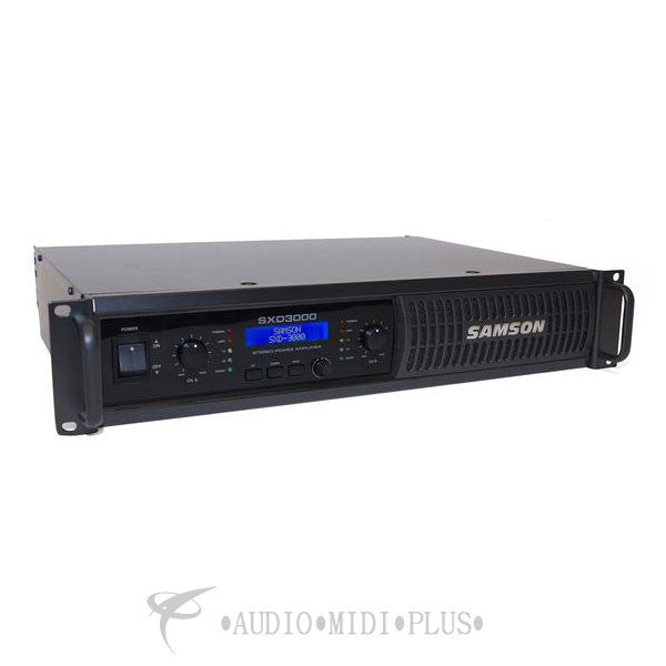 Samson SXD3000  Power Amplifier with DSP - SASXD3000 - 809164014355