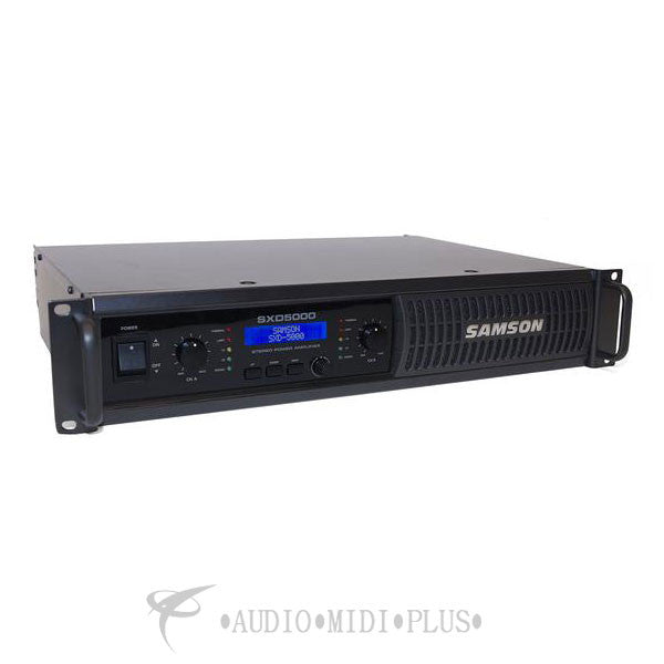 Samson SXD5000 Power Amplifier with DSP - SASXD5000 - 809164014362