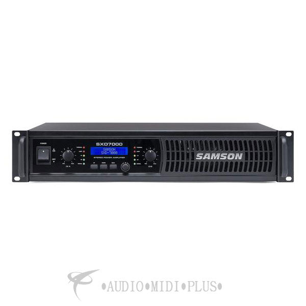 Samson SXD7000 Power Amplifier with DSP - SASXD7000 - 809164014379