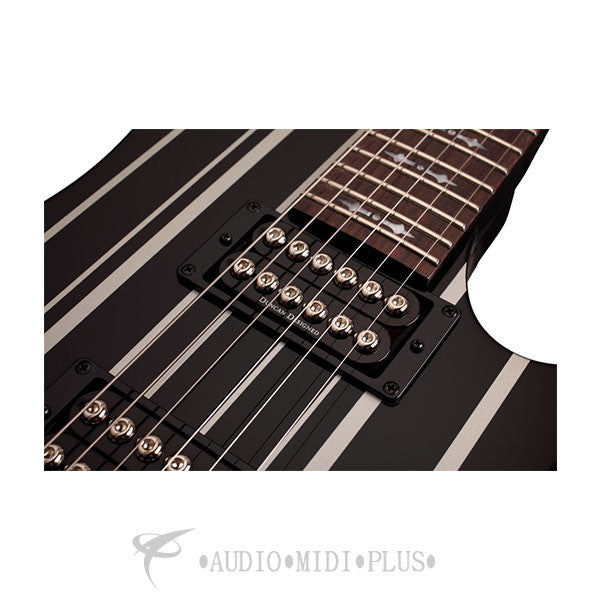 Schecter Synyster Standard Rosewood Fretboard Electric Guitar Gloss Black - 28 - 839212007756