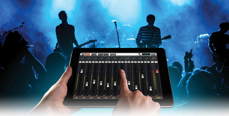Soundcraft Ui16 Digital Mixer with Wi-Fi Router IOS, Android, MAC/PC