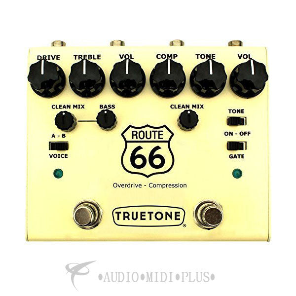 Visual Sound V3 Route 66 American Overdrive Guitar Pedal - V3RT66-U
