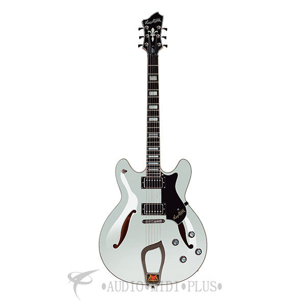 Hagstrom Viking Deluxe Electric Guitar White Maple - VIDLX-WHT-U