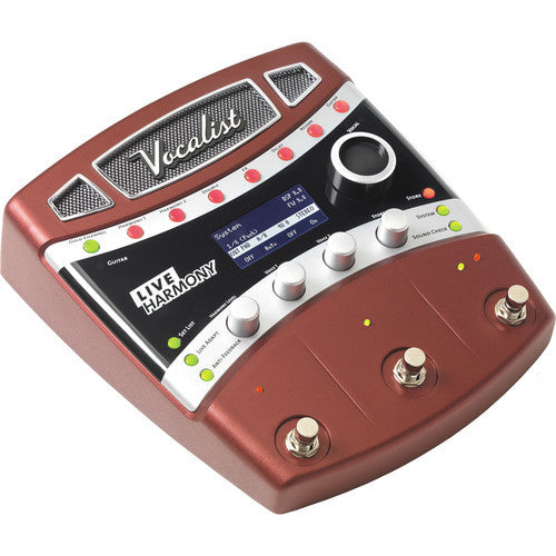 DigiTech  VHLM Vocalist Live Harmony Vocal Effects Pedal for Guitarists