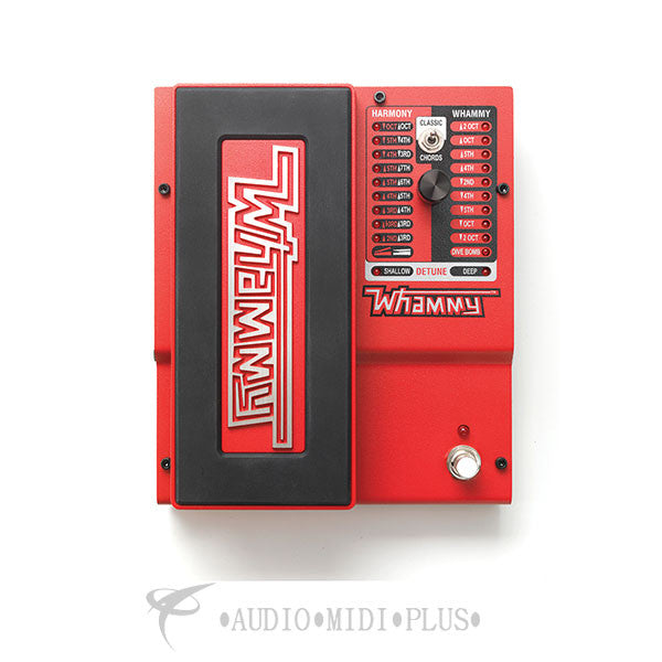 Digitech Whammy 5th Gen 2-Mode Pitch-shift Effect with True Bypass - WHAMMY-U - 691991200236