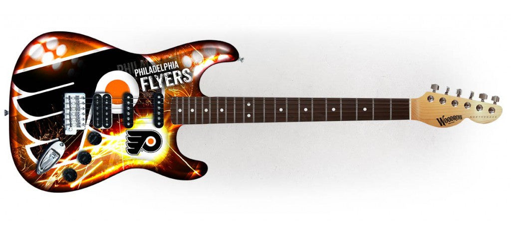 Woodrow Philadelphia Flyers Northender Electric Guitar