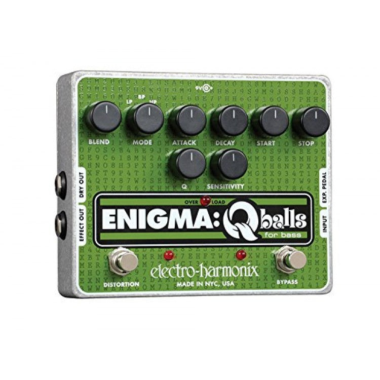 Electro-Harmonix Enigma: Q-Balls for Bass Envelope Filter