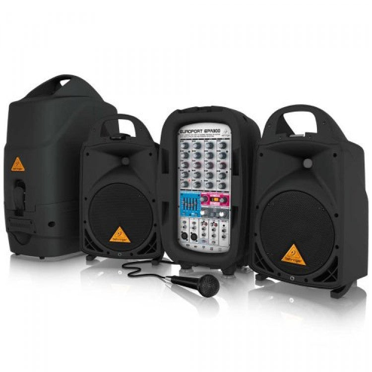 Behringer Europort EPA300 Ultra-Compact 300-Watt 6-Channel Portable PA System