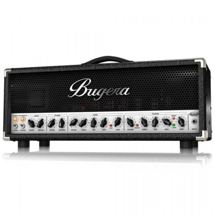 Bugera 6262-INFINIUM Ultimate Rock Tone 120-Watt 2-Channel Valve Amplifier Head
