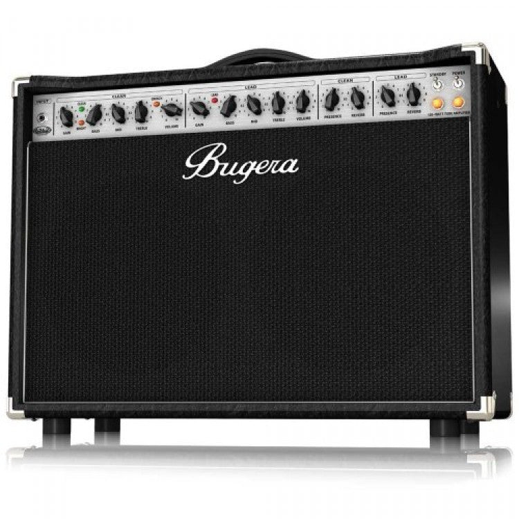 Bugera 6262-212-INFINIUM Ultimate Rock Tone 120-Watt 2-Channel Valve Combo