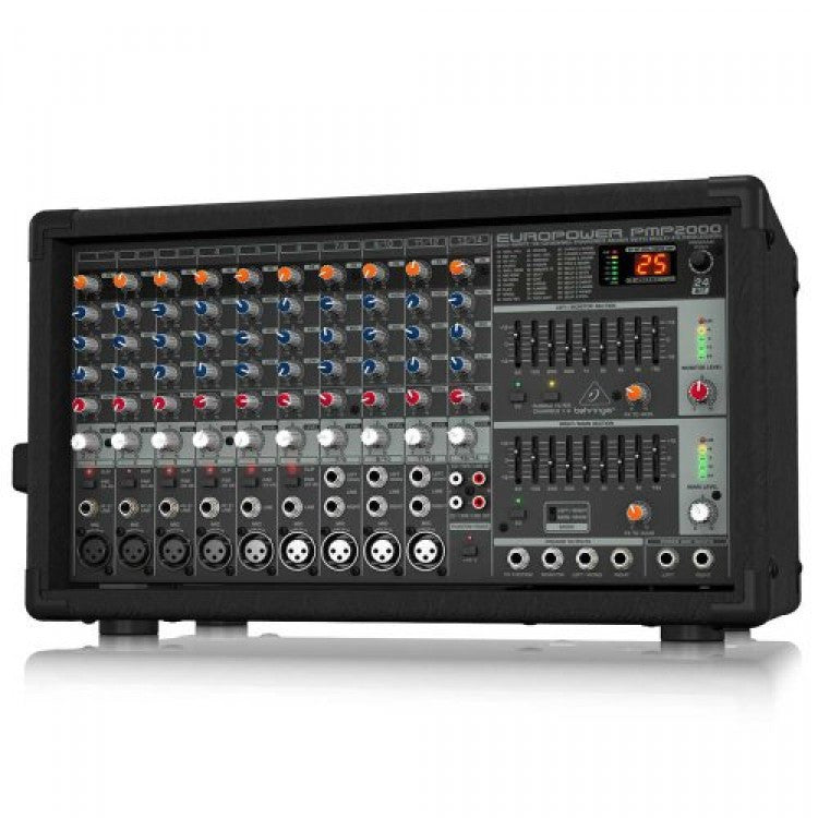 Behringer EUROPOWER PMP2000 800-Watt 10-Channel Powered