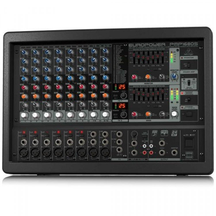 Behringer EUROPOWER PMP1680S 1600-Watt 10-Channel Powered Mixer