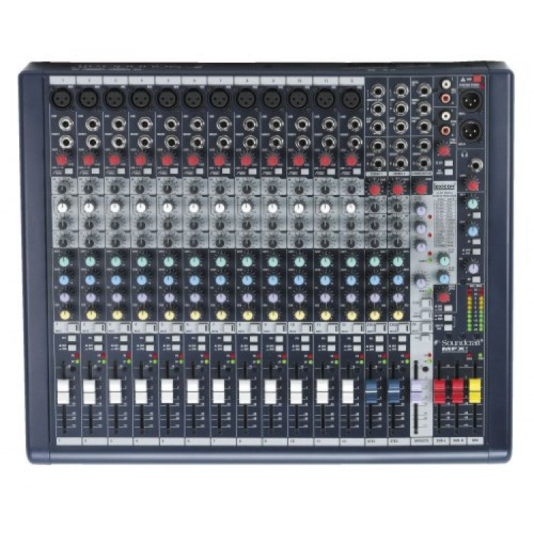 Soundcraft MFXi12 12-Channel Audio Mixer