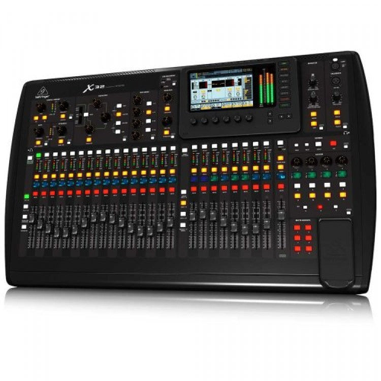 Behringer X32 Digital Mixer 32-Channel, 16-Bus Total-Recall Digital Mixing Console