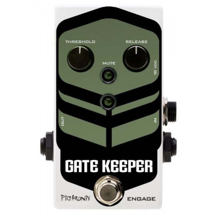 Pigtronix Gatekeeper Noise Gate Pedal.