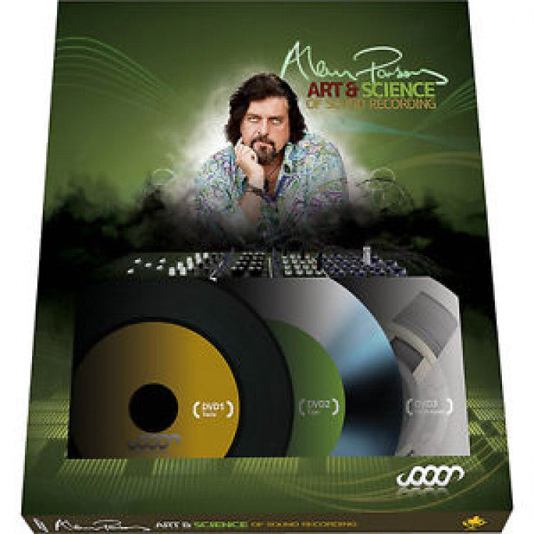 Alan Parsons - Art And Science of Sound Recording DVD Set