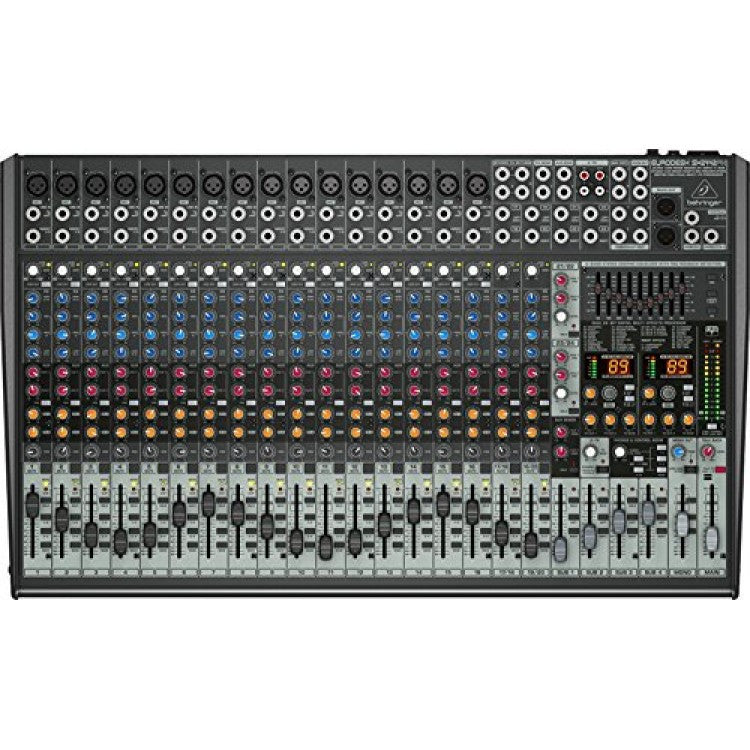 Behringer EURODESK SX2442FX Ultra-Low Noise Design 24-Input 4-Bus Studio/Live Mixer