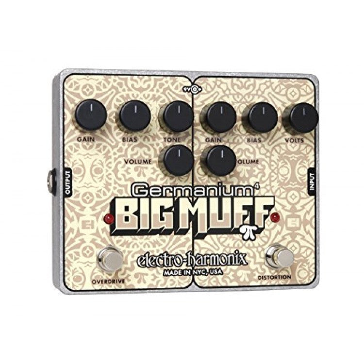 Electro-Harmonix Germanium 4 Big Muff Pi Overdrive Distortion Pedal