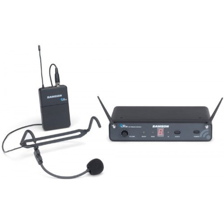 Samson Concert 88 Headset 16-Channel True Diversity UHF Wireless System (Channel D)