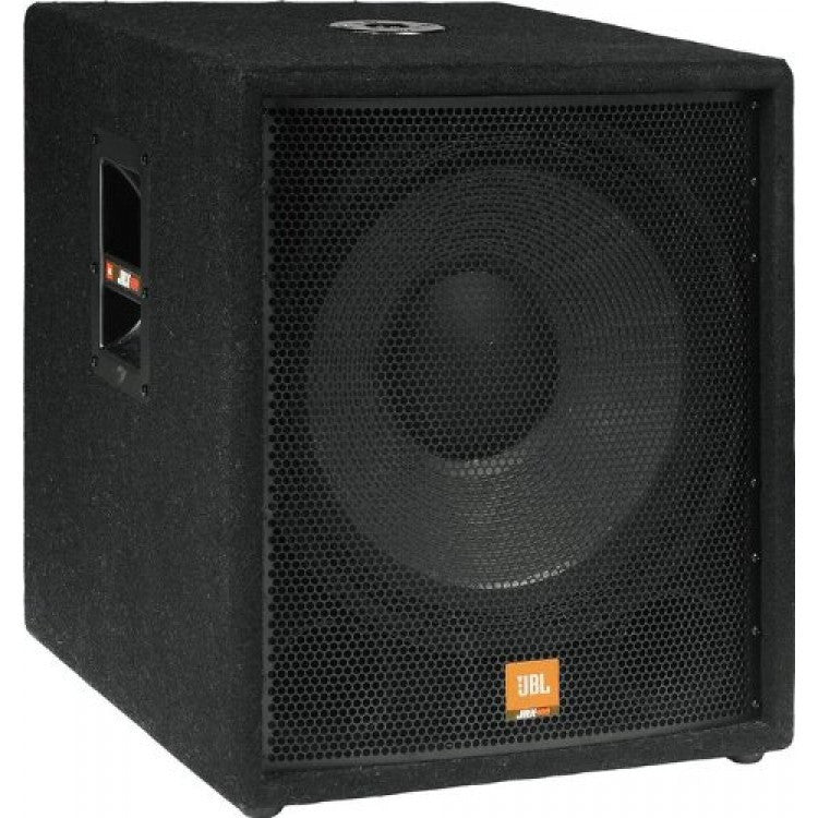 JBL JRX118SP Powered Single 18-inch 350 Watt Subwoofer, Dual Inputs