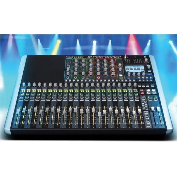 Soundcraft Si Performer 2 Digital Mixer w/ DMX