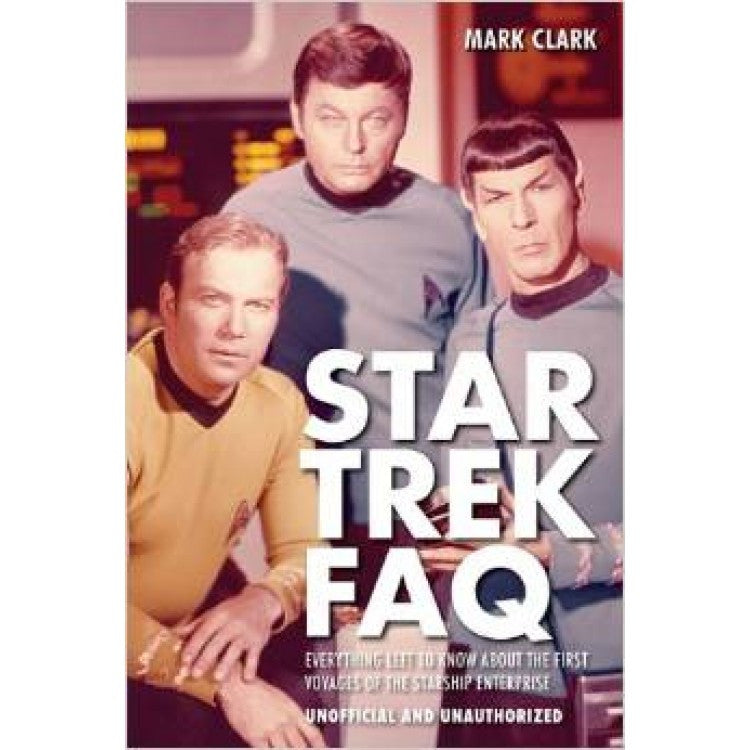 Star Trek FAQ (Unofficial and Unauthorized) softcover book