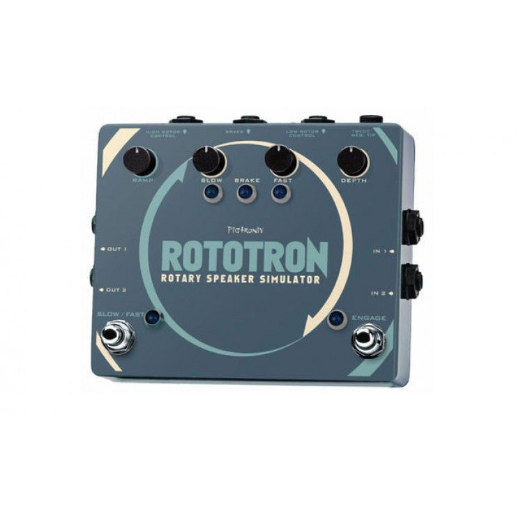 Pigtronix Rototron Rotary Speaker Effect Pedal.
