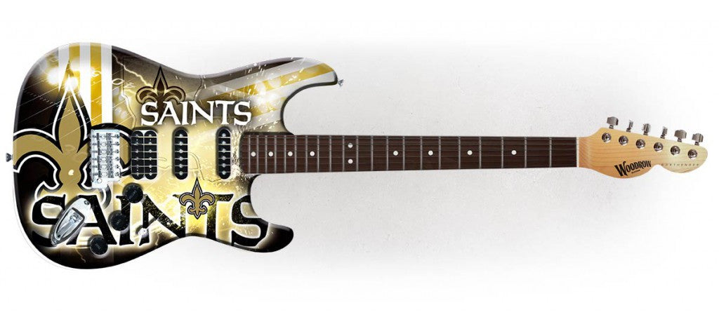 Woodrow New Orleans Saints Northender Electric Guitar