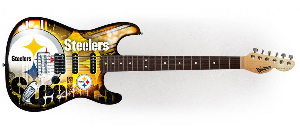 Woodrow Pittsburgh Steelers Northender Electric Guitar