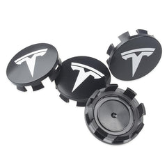 Hjulsenterkapsel - Wheel center hubs - Hvit - Tesla Model S - Tesla Model X