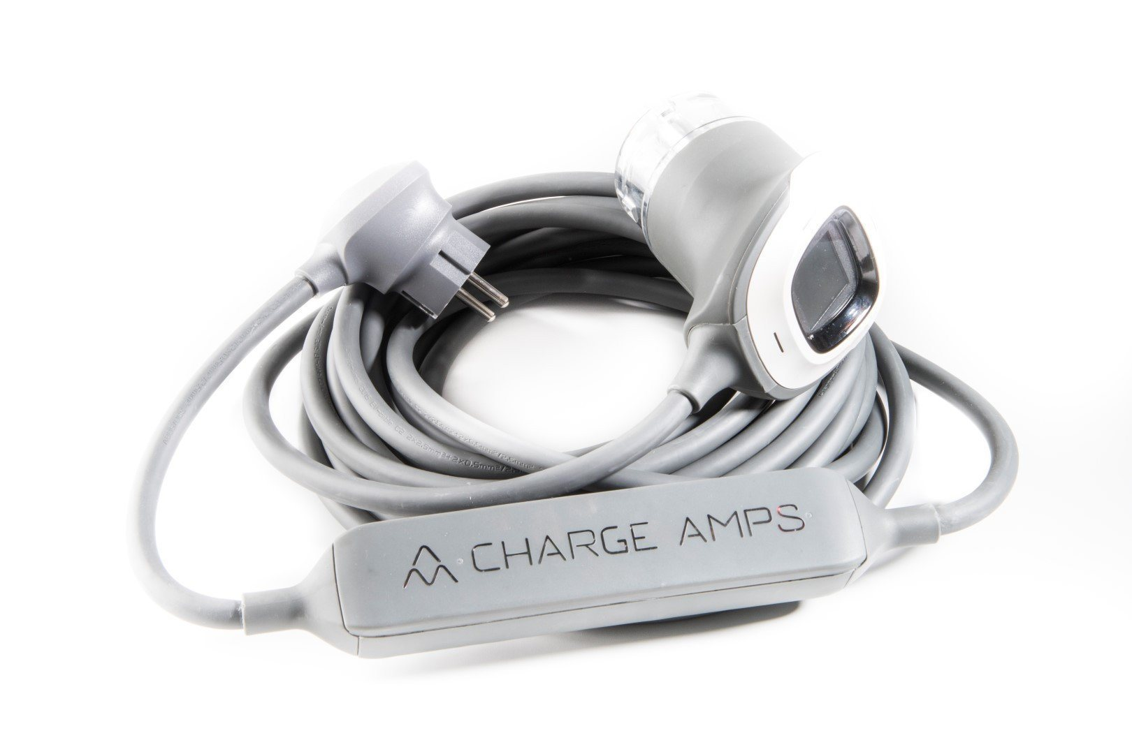 <b>Charge Amps RAY - Schuko til type 1 & type 2 - justerbar ladekabel 6A/10A/16A - 1-fas</b>  - Elbilgrossisten - 13