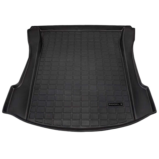 TSLA Trunk Mats TM3 — Gummimatter for bagasjerom til Tesla Model 3