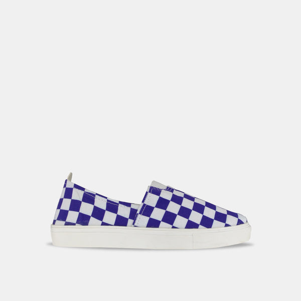 Navy Checkerboard