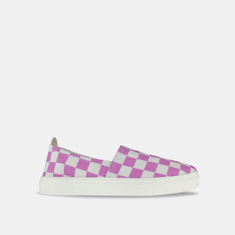 Plum Checkerboard