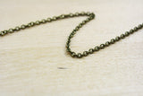 Antique Bronze Round Cable Chain