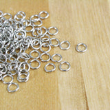 Jump Rings 18g | 6mm | Antique Silver
