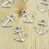 10 | Anchor Charms | 15x19mm