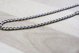 Spool of Stainless Steel Sleek Curb Chain | Twist Chain | 4x2mm
