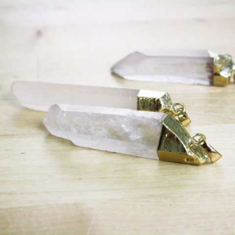 1 | Quartz Spike Pendant