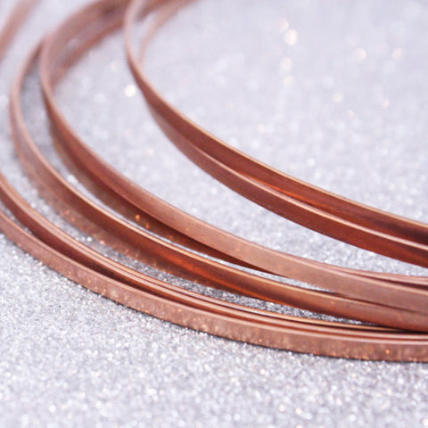 2 | Raw Copper Metal Headbands