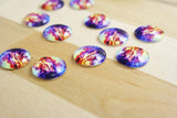 6 | Cosmic Glass Cabochons | 16mm