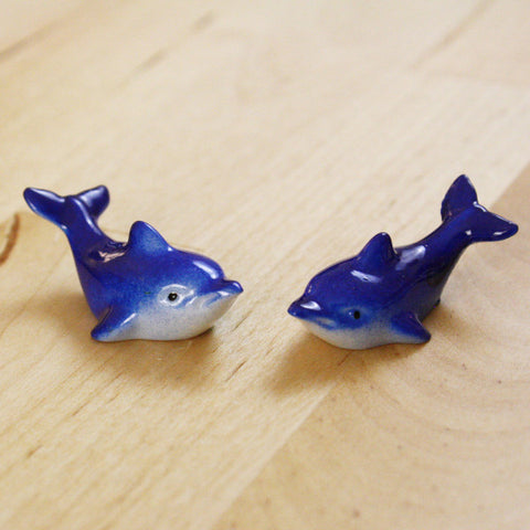 2 | Dolphin Cabochons | 37x20mm