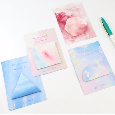 Watercolor Memo Pads