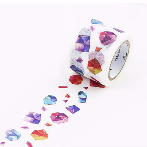 1 | Gemstone Print Washi Tape Roll